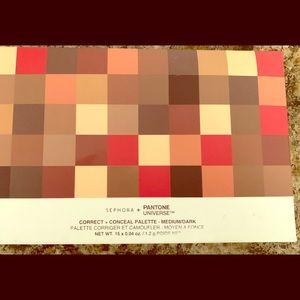 Sephora med-dark Pantone color correcting palette